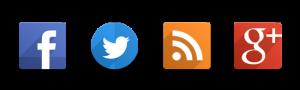 Facebook, Twitter Google+